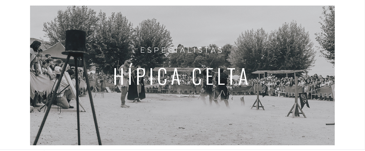 Página intro de especialistas hipica celta